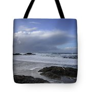 Storm Rolling In Wickaninnish Beach Tote Bag