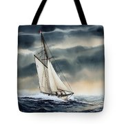 Storm Sailing Tote Bag