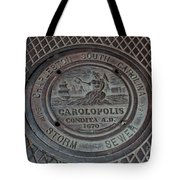 Storm Sewer  Tote Bag