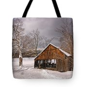 Storm Shed Tote Bag