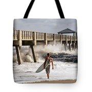 Storm Surfer Tote Bag
