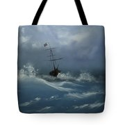 Storm Tossed Tote Bag