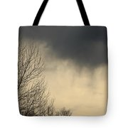 Storm Virga Over Rogue Valley Tote Bag