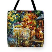 Storming Night Tote Bag