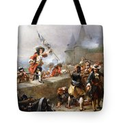 Storming The Battlements Tote Bag