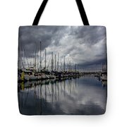 Storm's Approach  Tote Bag