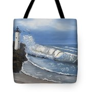 Storm's Coming Tote Bag