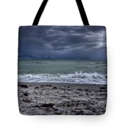 Storm's Rolling In Tote Bag