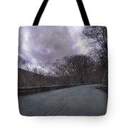 Stormy Blue Ridge Parkway Tote Bag