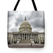 Stormy Capitol Day II Tote Bag