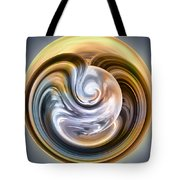 Stormy Clouds Ball Tote Bag