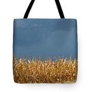 Stormy Corn Tote Bag