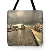 Stormy Day At Alphen Aan Den Rijn Tote Bag