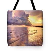 Stormy Glow Tote Bag