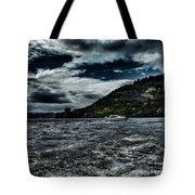 Stormy Loch Ness Tote Bag