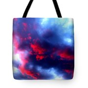 Stormy Monday Blues Tote Bag