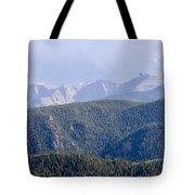 Stormy Pikes Peak Tote Bag