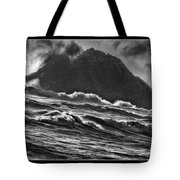 Stormy Rock Tote Bag