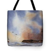 Stormy Sea Tote Bag