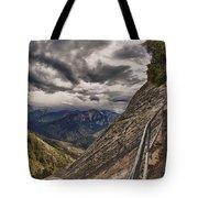 Stormy Skies On Moro Rock Tote Bag
