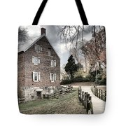 Stormy Skies Over The 1823 Grist Mill Tote Bag