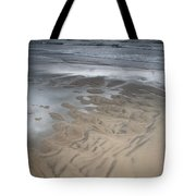 Stormy Skies Over The North Sea Tote Bag
