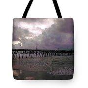 Stormy Sky In Myrtle Beach Tote Bag