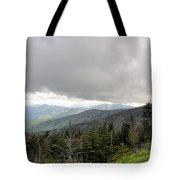 Stormy Smoky Mountains Tote Bag