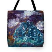 Stormy Sundown Tote Bag