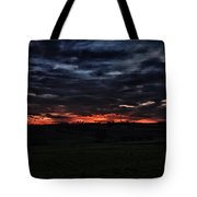 Stormy Sunset Tote Bag by Miguel Winterpacht