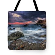 Stormy Winter. Tote Bag