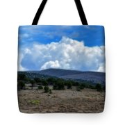 Stormy Wyoming Fall Tote Bag