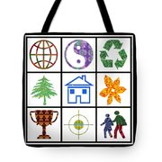 Story Line Happy Couples Happy Homes Focus Award Reward Green Balance Growth World  Signature Style  Tote Bag