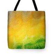 Stormy Mesa Original Painting Tote Bag