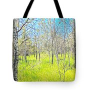 Storybook Aspens Tote Bag