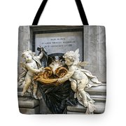 Stoups At The Basilica Tote Bag