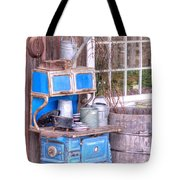 Stove  Appliance Cooker  Kitchen  Antique Tote Bag
