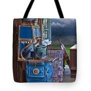 Stove - Appliance - Cooker - Kitchen  Tote Bag