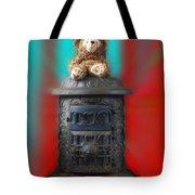 Stove Top Bear Tote Bag