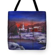 Stowe - Vermont Tote Bag by Anastasiya Malakhova