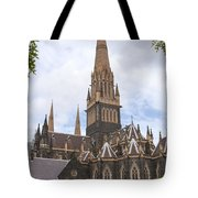 St.patrick's Cathedral Tote Bag