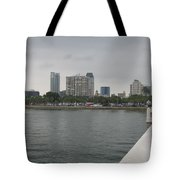St.petersburg Bayfront From Pier Tote Bag