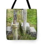 Straddle The Fence Tote Bag