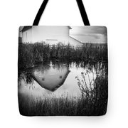 Straight Faced Tote Bag