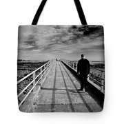 Strait Is The Way Tote Bag