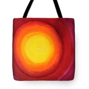 Strange Attractor Original Painting Sold Tote Bag