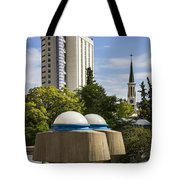 Strange Buenos Aires Architecture Tote Bag