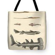 Strange Fish Tote Bag