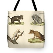 Strange Marsupials Tote Bag