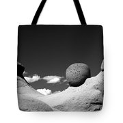 Strange Rocks 30 Bw Tote Bag